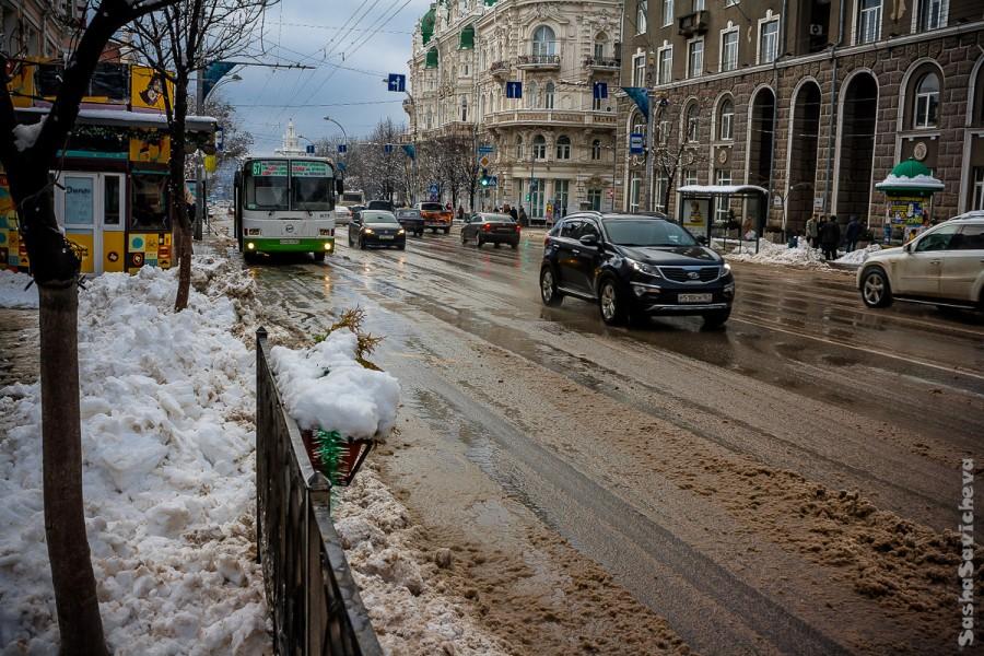 Снежный Ростов-на-Дону