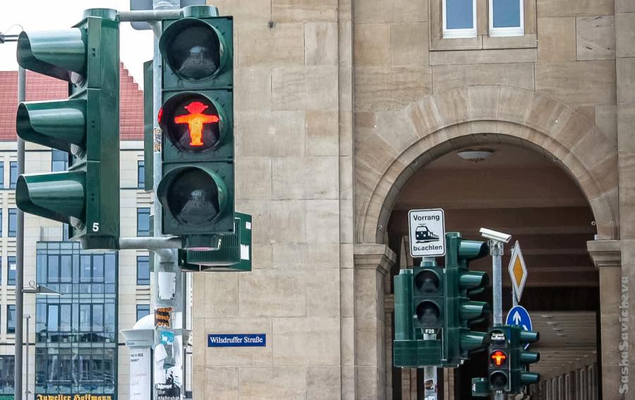 Светофоры Дрездена