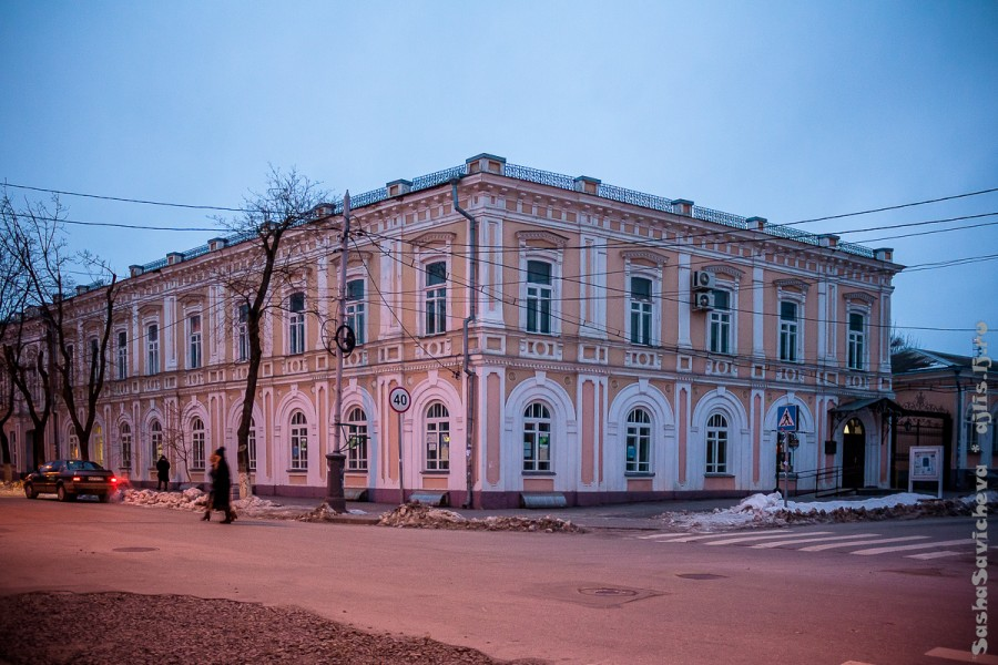 Холодный Таганрог зимой