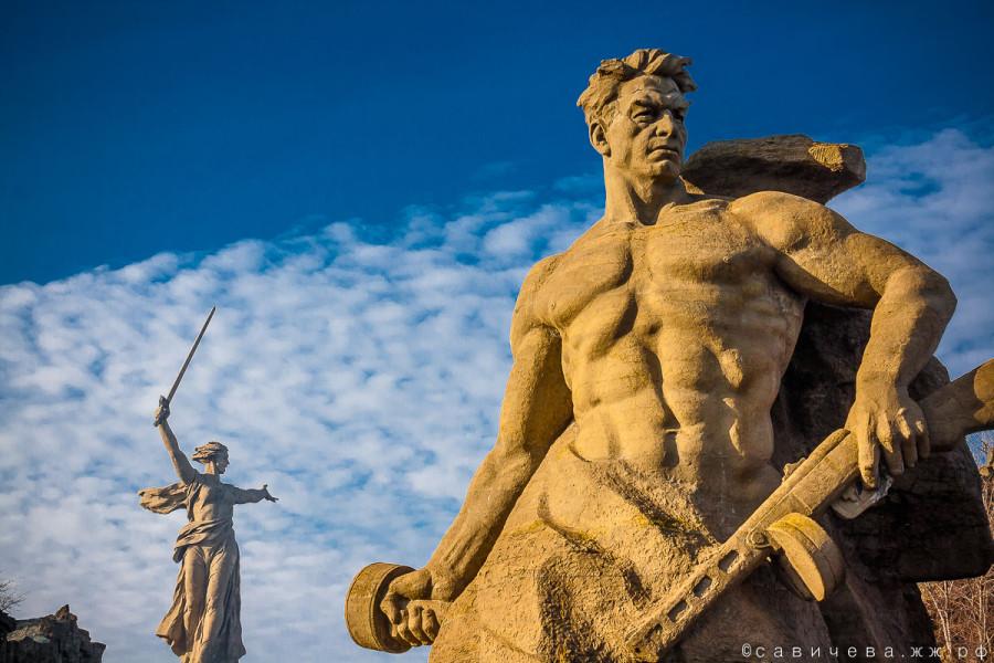 Волгоград Сталинград 2 февраля Мамаев Курган