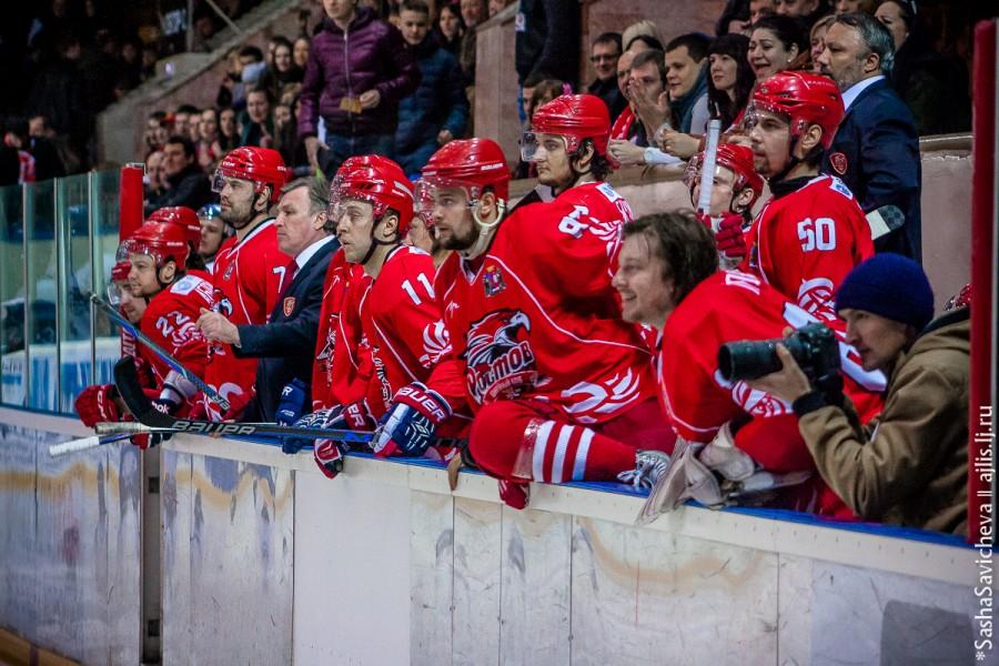 Хоккей: ХК Ростов - ЦСК ВВС, 14 февраля, фотоотчет