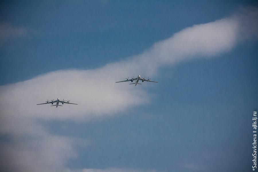 Тренировка в небе над Ростовом: 5 и 7 мая