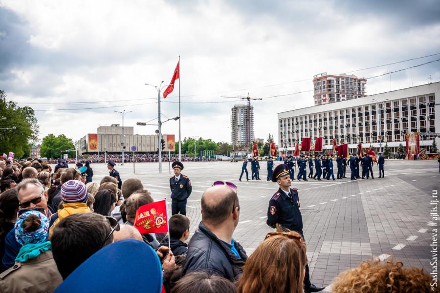 День Победы в Краснодаре