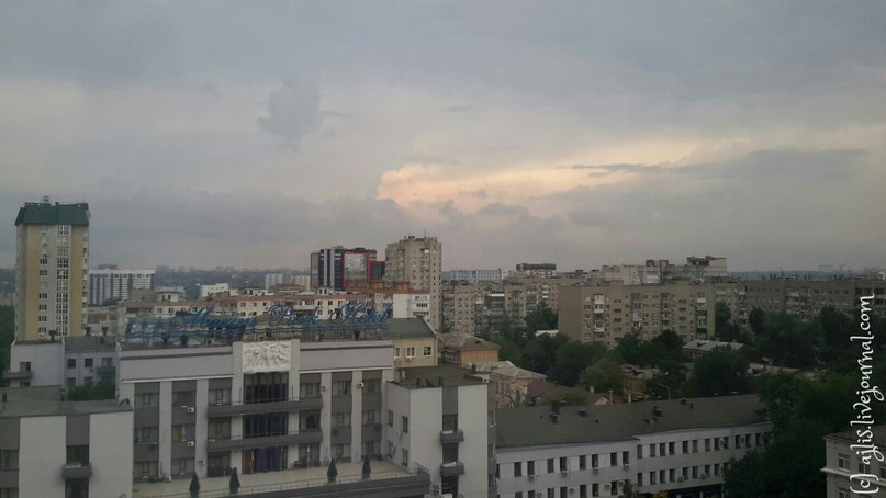 Пасмурно в Ростове