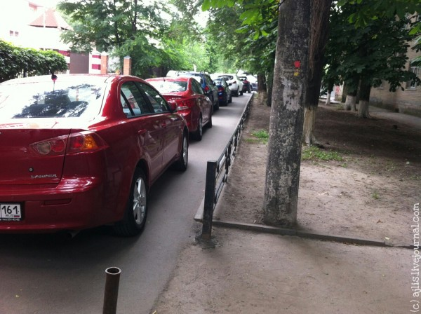 Парковка в Ростове