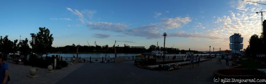 Ростов-на-Дону: панорама набережной