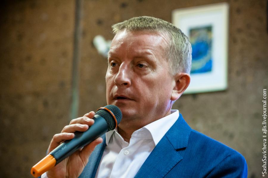 Встреча врио губернатора Василия Голубева с ростовскими блогерами