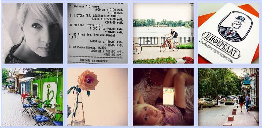 Лента ваших Instagram-картинок в ЖЖ