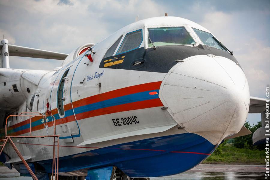 Самолет-амфибия Бе-200ЧС МЧС РФ