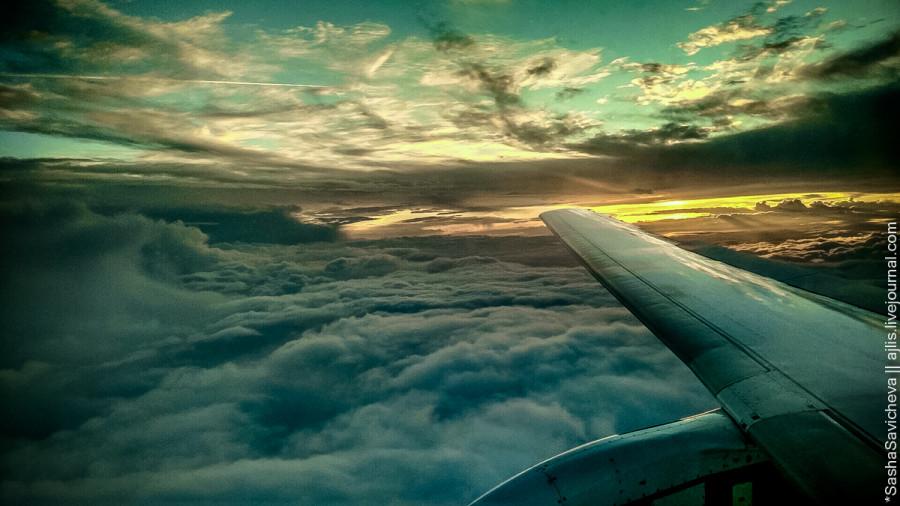Утро в небе | Morning in the sky
