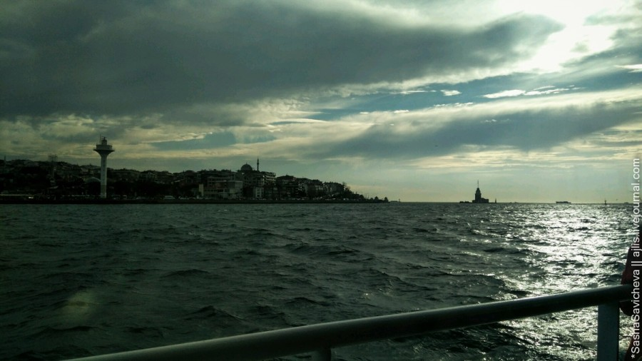 Аморэ морэ: Мраморное море, Стамбул