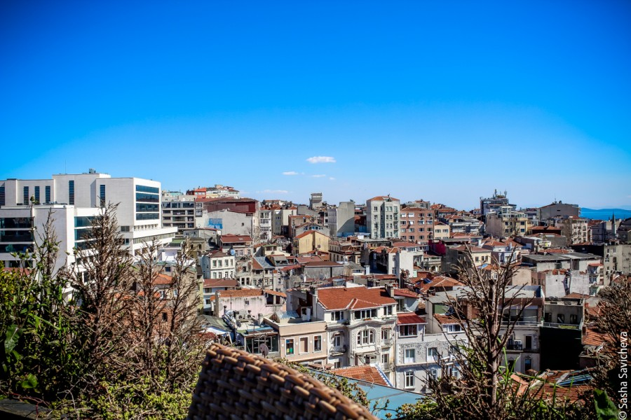 Terrace41 в Стамбуле  Завтрак на крыше