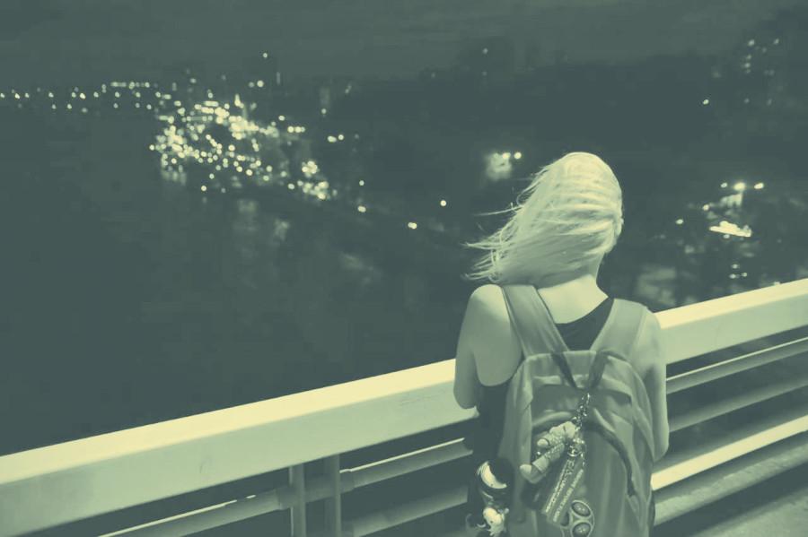 Спонтанная фотосессия на Ворошиловском мосту, фото - Дмитрий Рязанцев