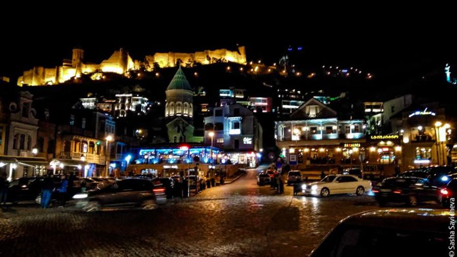 Моя Грузия: вечерний Тбилиси. Фото - Саша Савичева