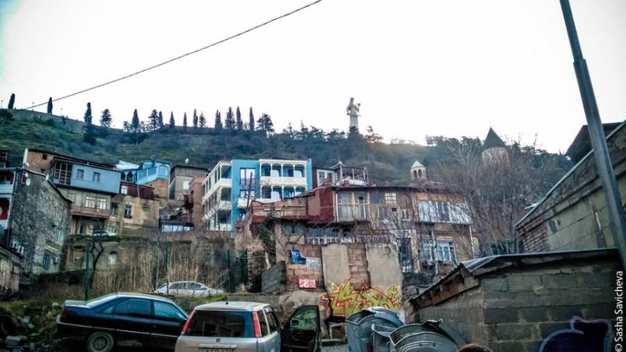 Моя Грузия: старый колоритный Тбилиси. Фото - Саша Савичева