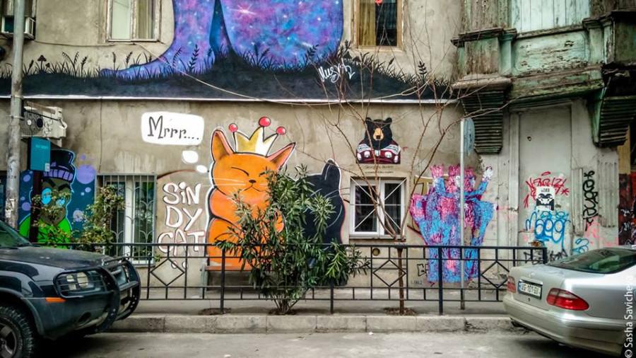 Грузия и креативное пространство Фабрика в Тбилиси. Фото - Саша Савичева