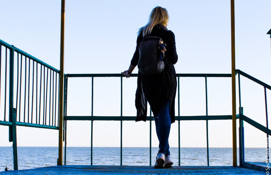 Надо жить у моря, мама. Таганрог. Фото Саша Савичева