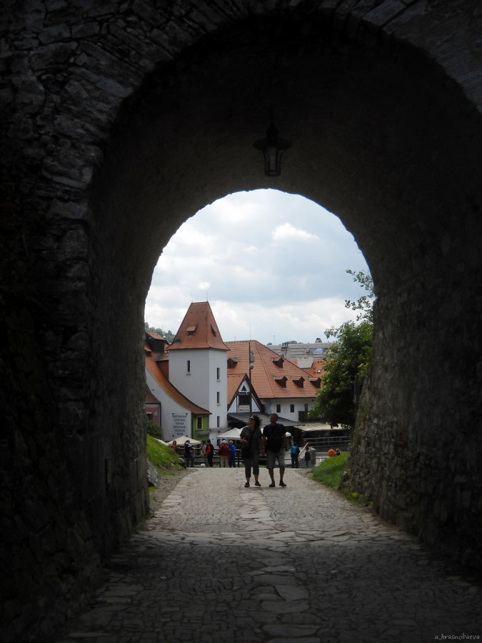 DSCN3460 арка плащевого моста, вид на Внутренний город