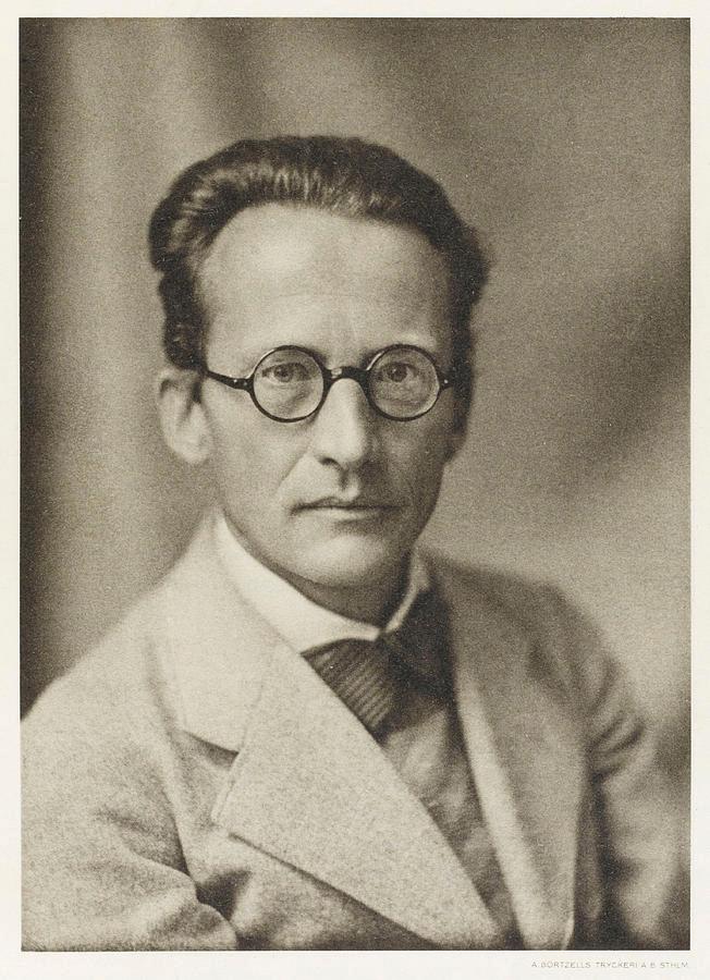 Эрвин Шрёдингер в 1933 году