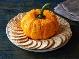 appetizer cheese ball pumpkin