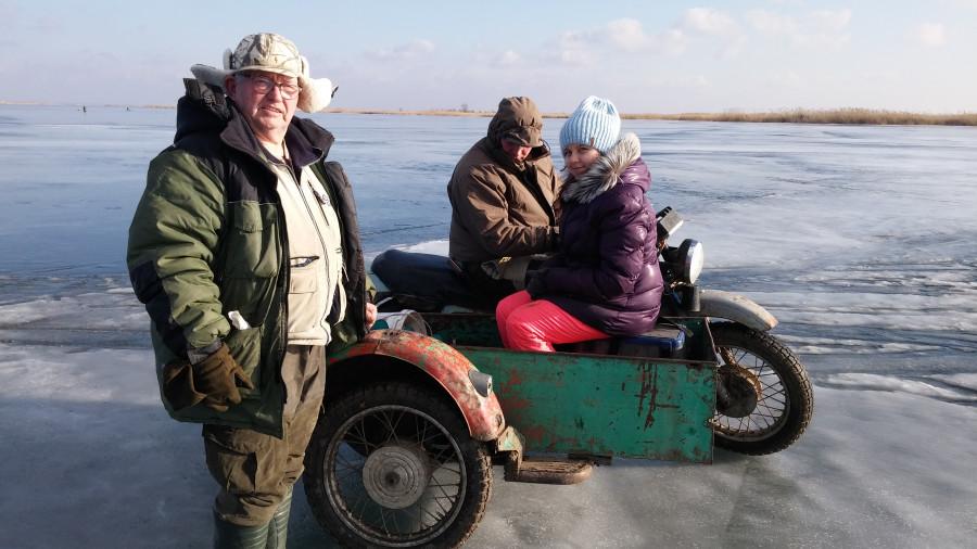 Ледяной транспорт к щукам