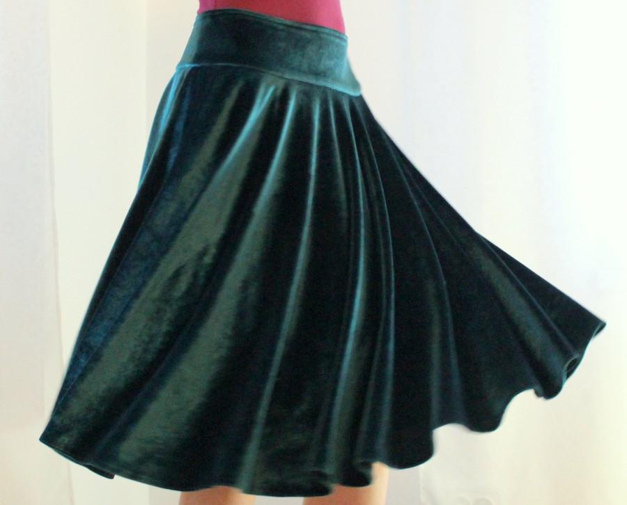 Как сшить юбку из бархата своими руками