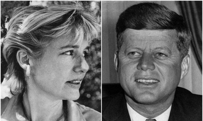Mary Pinchot Meyer, John F. Kennedy