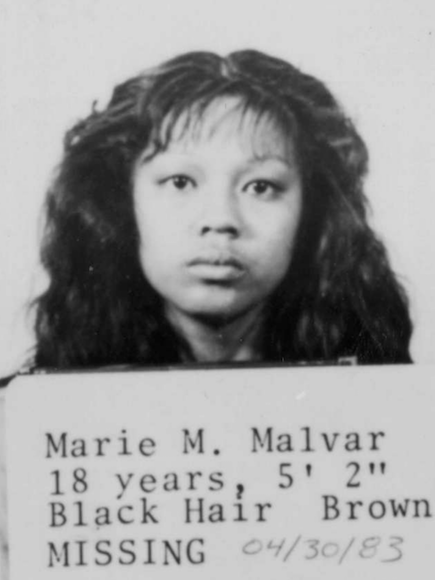 "Mary-Jane M. ""Marie"" Malvar 1965-1983"