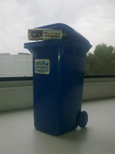 Микробрат для батареек как опасных отходов