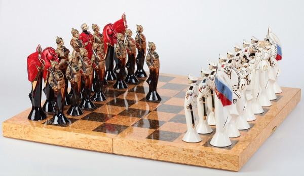 Шахматные фигуры в виде солдат купить в ставрополе