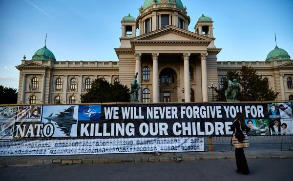 НАТО - не надо. 84% жителей Сербии выступили против идеи вступления страны в НАТО