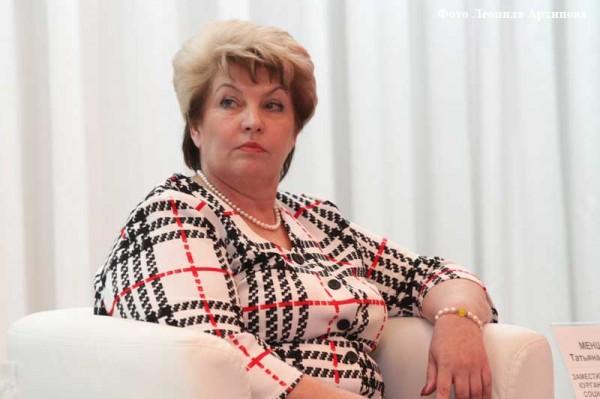 Замгубернатора Курганской области Менщикова посоветовала фельдшеру утепляться мокрой газетой