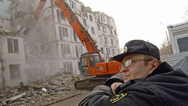 Московские хрущёвки идут на снос