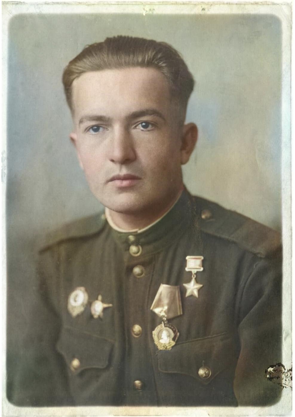 фото из музея Степановых (с обработкой в цвете)
