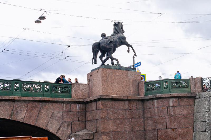 Аничков мост.