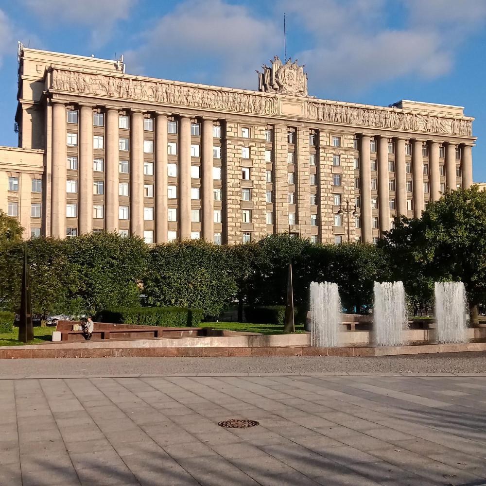 Прогулка по фонтанам в Московском районе Петербурга