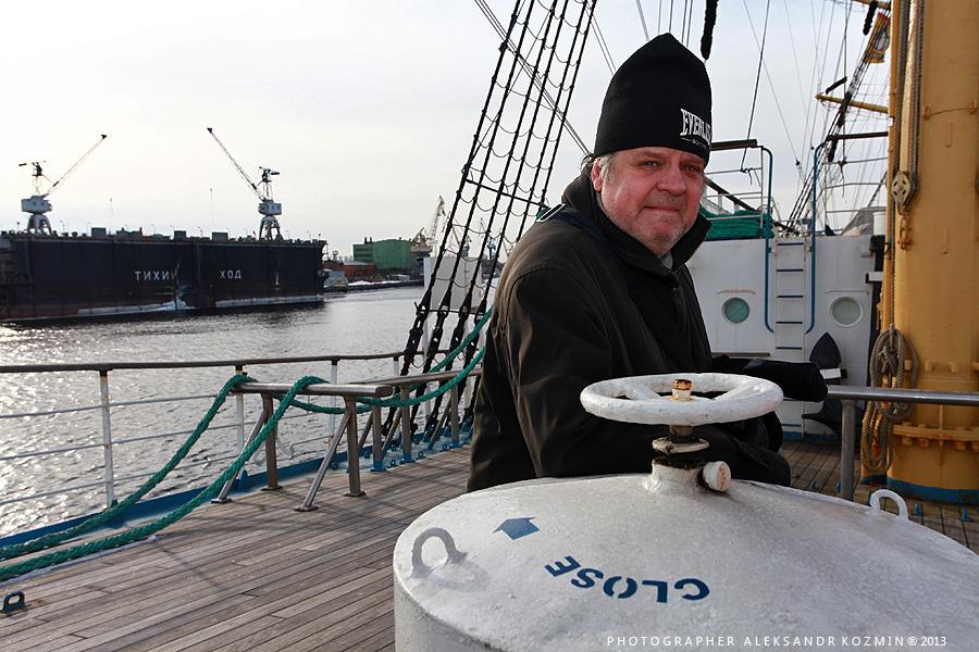 Борис Вагапов, Рассказ блогера о посещении легендарного парусного судна МИР