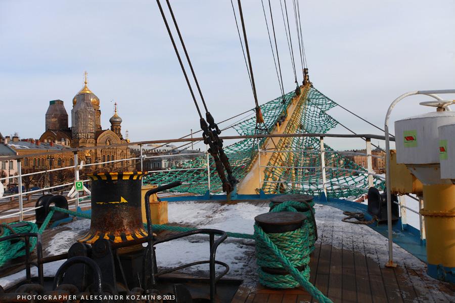 Рассказ блогера о посещении легендарного парусного судна МИР