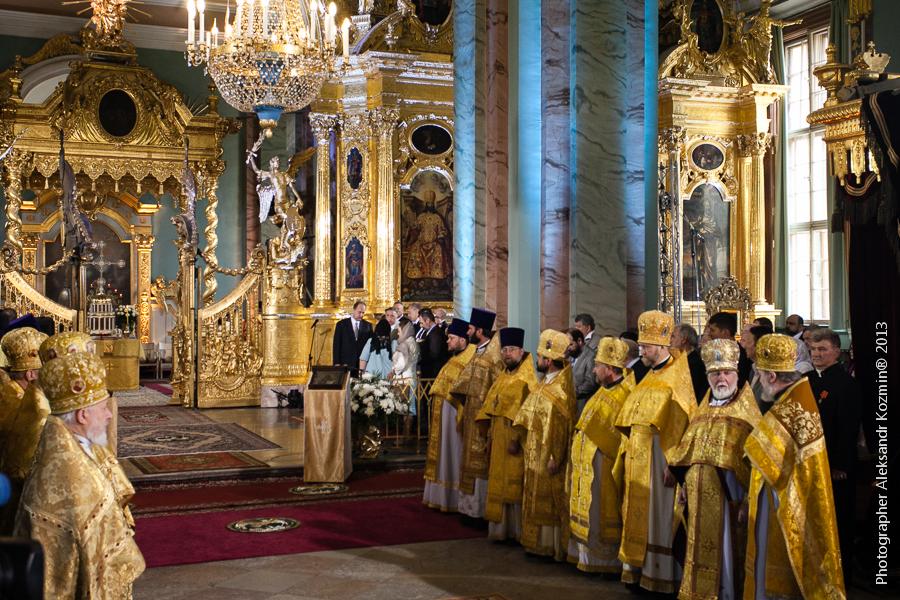 280 лет со дня освящения собора Петра и Павла в Санкт-Петербурге
