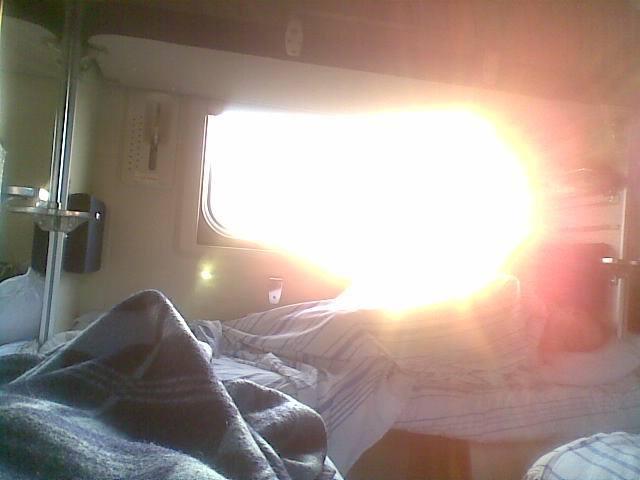 утро, солнце