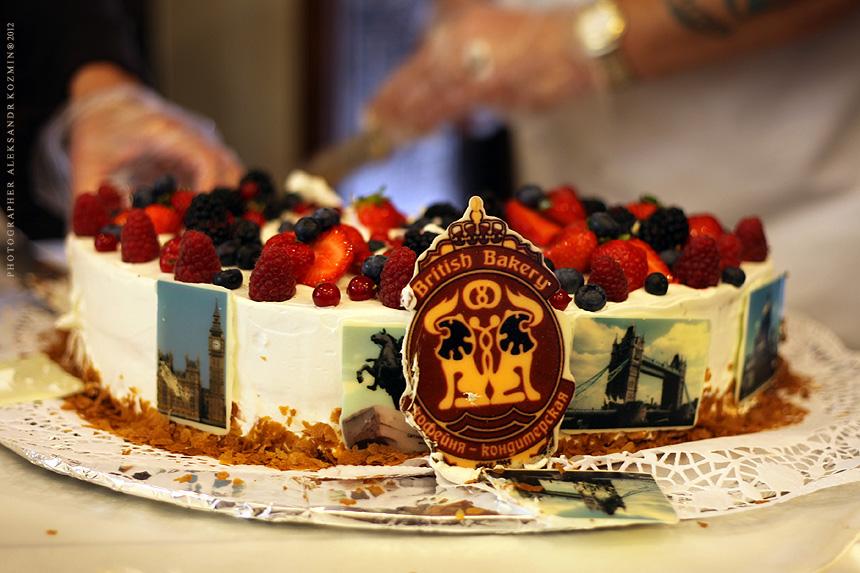 Фирменный торт от маэстро Андрю Пак.