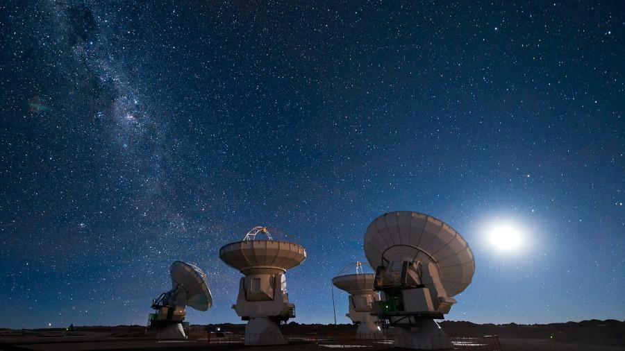 Звезды Космоса с Земли