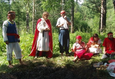 После церемонии Перуна