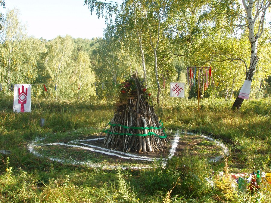 Самостоятельная подготовка к ритуалу Велеса