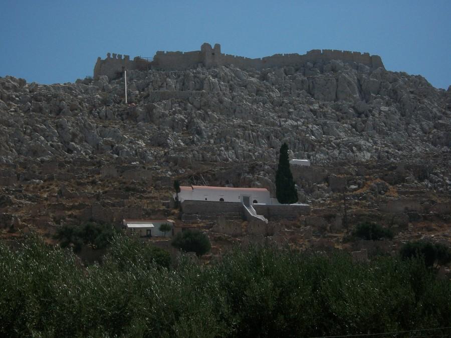 Крепостная стена с другой стороны