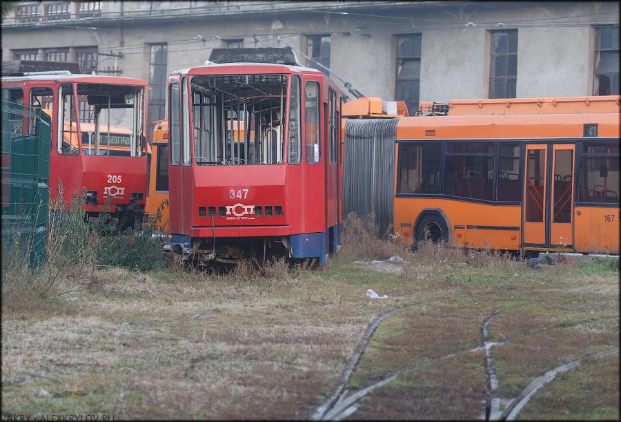 Кладбище трамваев