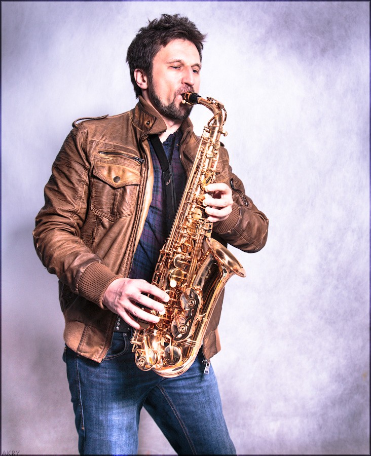 Akry with Saxophone