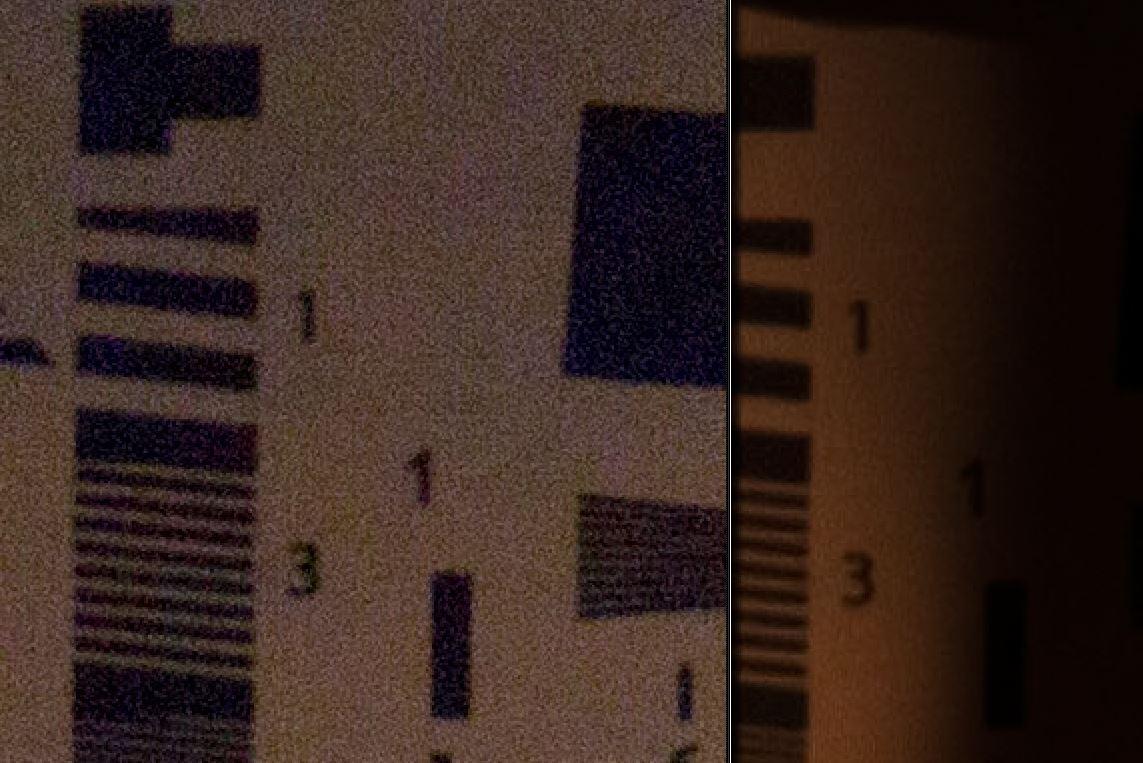 ISO 100ev5-6400 Bar Res Compare
