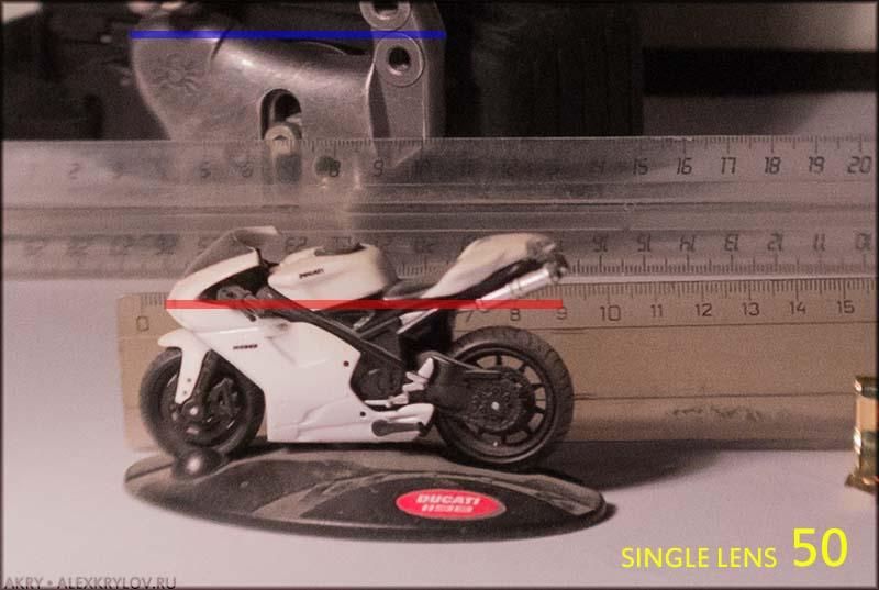 Угловые размеры и фокусное расстояние - 24mm
