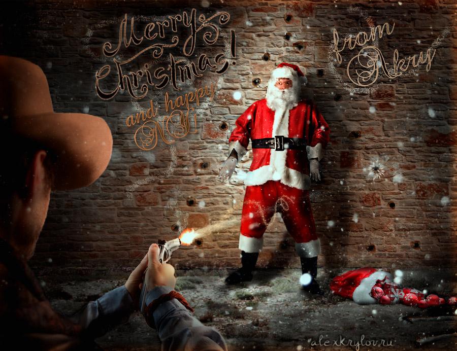 Gunslinger vs Santa